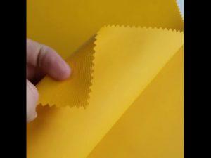 100%ポリエステル素材オックスフォードPVCラミネートバックパックファブリック