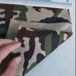 カモフラージュ模様80/20コットンポリエステル綾織物(軍服制服用)