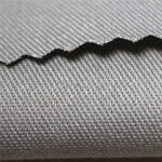 350gsm綿難燃性サテン生地ワークウェア素材EN11612 FR fabric for coverall