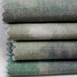 軍服用帯電防止軍事印刷リップストップコットンファブリック